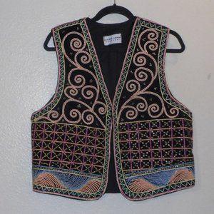 Vintage Carol Horn Workshop vest